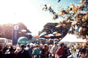 World Village Festival. The photo was taken with solar powered camera. Photo: Tiina Junno