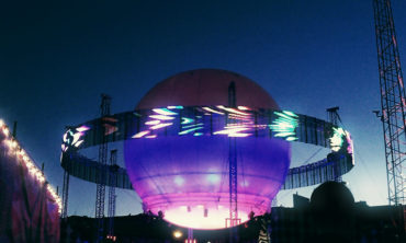 Bright Balloon 360° Stage at Flow Festival. Photo: Tiina Junno